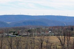 Ветровая электростанция Mehoopany Стоковое Изображение