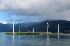 Ветрогенераторы Стоковые Изображения RF