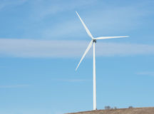 Ветротурбина в северной части штата NY Стоковое фото RF