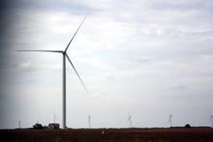 Ветротурбина Горизонтальн-оси Стоковые Изображения RF
