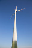Ветротурбина от восточной Австрии стоковое фото rf