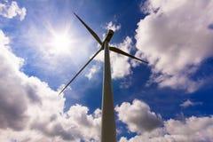 Ветротурбина Стоковое фото RF