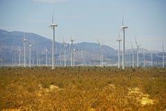 Ветротурбины внутри Стоковое Фото