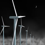 Ветротурбины Стоковое Изображение