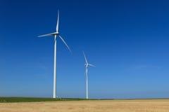 Ветротурбины Стоковые Изображения RF