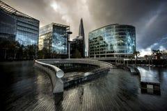 Ветроуловитель - больше Лондона Стоковые Изображения RF