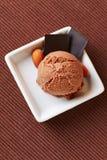 2 ветроуловителя мороженого шоколада Стоковая Фотография RF