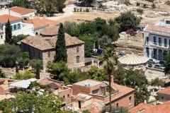 ветры башни athens Греции Стоковая Фотография