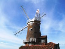 ветрянка Англии cley Стоковые Изображения