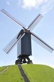 Ветрянка, Брюгге Бельгия Стоковые Изображения RF
