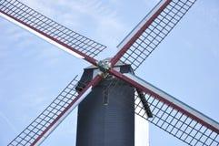 Ветрянка, Брюгге Бельгия Стоковая Фотография