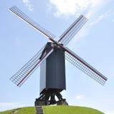 Ветрянка, Брюгге Бельгия Стоковое Изображение RF