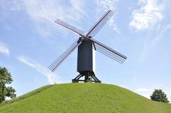 Ветрянка, Брюгге Бельгия Стоковые Фотографии RF