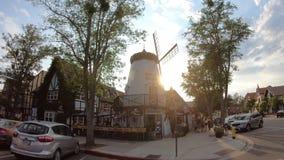 Ветрянка винодельни Sevtap в Solvang видеоматериал