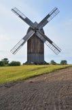 Ветрянка в под открытым небом музее в Olsztynek (Польша) Стоковое Изображение