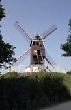 Ветрянка в Brugge, Бельгия, Стоковое Изображение