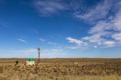 Ветрянка в Karoo Стоковое Изображение