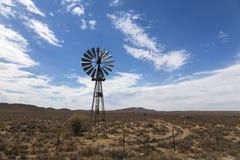 Ветрянка в Karoo Стоковые Фото