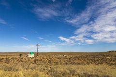 Ветрянка в Karoo Стоковые Изображения