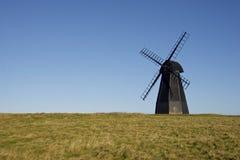 Ветрянка, мельница Rottingdean, восточное Сассекс, Великобритания Стоковое Изображение RF
