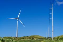 Ветрянка на холме Стоковые Фото