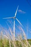 Ветрянка на холме Стоковая Фотография