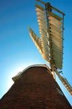 Ветрянка Норфолк Billingford стоковые фотографии rf