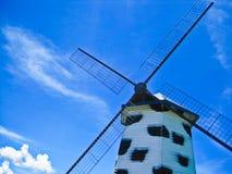Ветрянка с стилем коров Стоковая Фотография