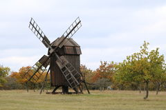 Ветрянка Швеция Borgholm на Oland стоковое фото