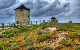 Ветрянка Apulia стоковые фотографии rf