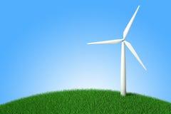 ветрянка eco изолированная энергией белая бесплатная иллюстрация