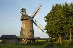 Ветрянка Eilhausen (Luebbecke, Германия) стоковая фотография