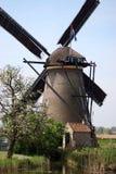 ветрянка kinderdijk стоковое изображение rf