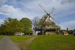 Ветрянка Levern (Stemwede, Германия) стоковые фотографии rf