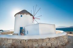 Ветрянка Mykonos Стоковые Фотографии RF