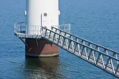 ветрянка se footbridge Стоковое Фото
