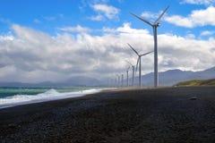Ветрянки в северной области Филиппин стоковая фотография rf