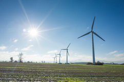 ветрянки Дании Стоковые Фото