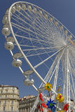 Ветрянки колеса и пластмассы Ferris Стоковая Фотография RF