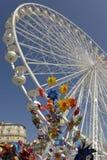 Ветрянки колеса и пластмассы Ferris Стоковые Фотографии RF
