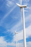Ветрянки на восходе солнца Стоковое Изображение RF