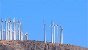 Ветрянки на восходе солнца видеоматериал