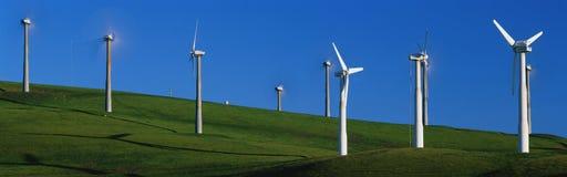 Ветрянки на Altamont проходят, CA Стоковые Фото