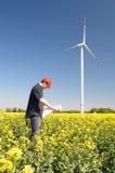 ветрянки строителей строителя Стоковая Фотография RF