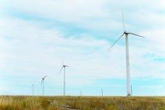 Ветрянки для продукции электричества Стоковая Фотография RF