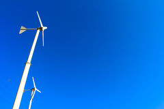 Ветрянки для продукции электричества Стоковые Фото