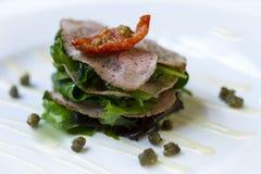 Ветчина и салат закуски Стоковая Фотография
