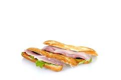 ветчина франчуза сыра хлеба Стоковое Изображение
