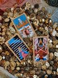 Веха Tarot стоковое фото rf