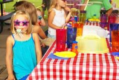 Вечеринка по случаю дня рождения Стоковые Фотографии RF
